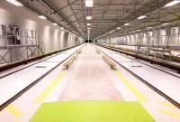 automatiserat system i ett lager/industrigolv
