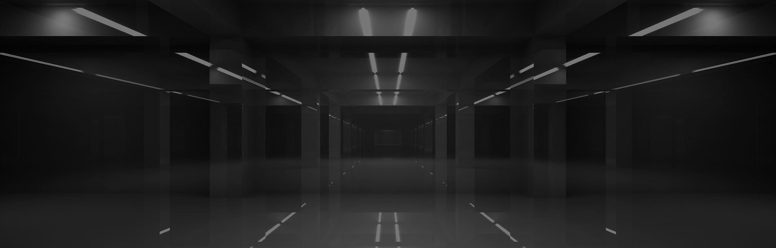lokal med nedsatt belysning